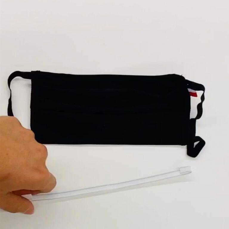Barrette buccale pour masque en tissu